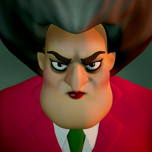 恐怖老师3D无限金币破解版