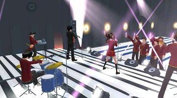 樱花校园模拟器最新版演唱会图1