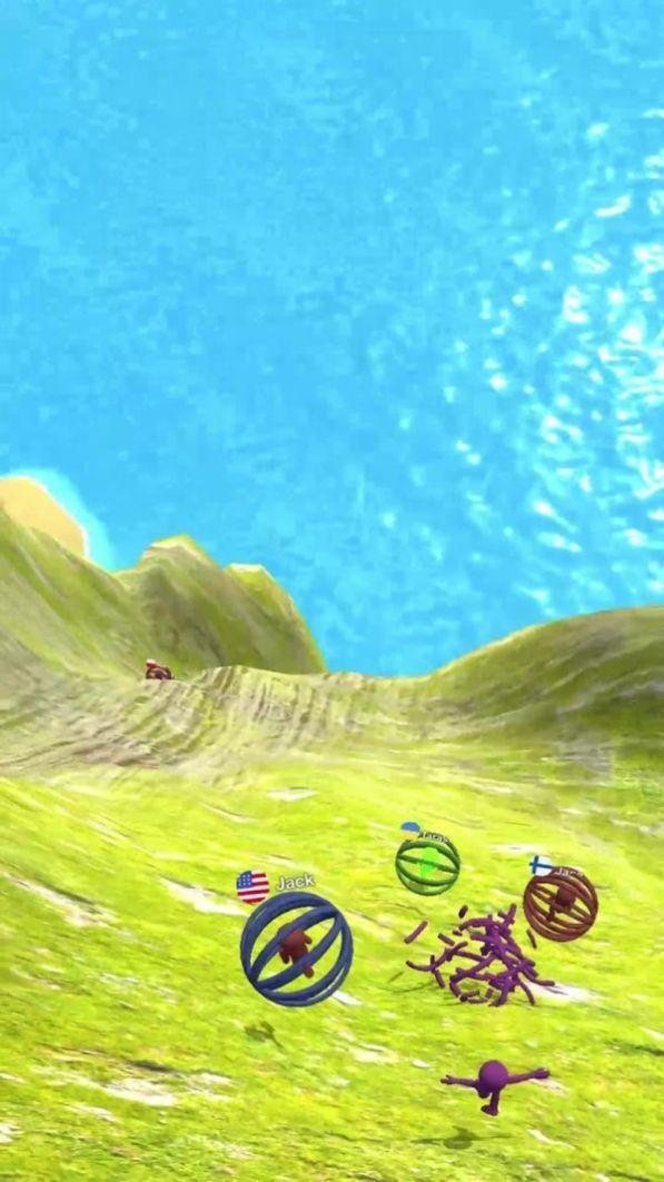 球球爬坡滚动
