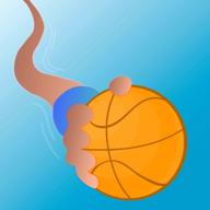 扭动的篮球