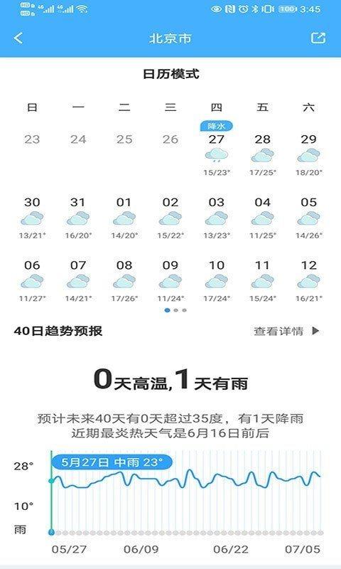青芒天气app新版图3