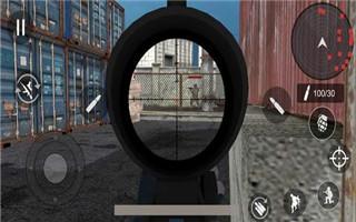 武装特警狙击手