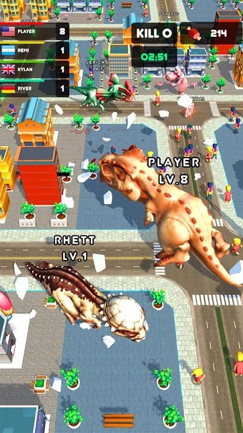 横冲直撞巨型怪物游戏图3