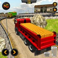 运输重型卸载卡车